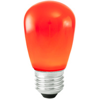 Red - 1.4 Watt - Dimmable LED - S14 - 120 Volt