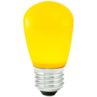 Yellow - 1.4 Watt - Dimmable LED - S14 - 120 Volt