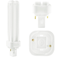 CF18DD/835/ECO - 2 Pin G24d-2 Base - 3500 Kelvin - 18 Watt - CFL - SYLVANIA 21110