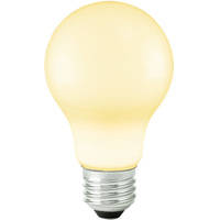 LED A19 Party Bulb - White - 1 Watt - 10 Watt Equal - 120 Volt - PLT LED-A19-W