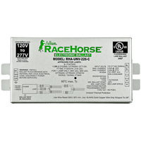 Fulham Racehorse RHA-UNV-226-K - Contractor Kit (2) Lamp - 26 Watt CFL -  120/277 Volt - Programmed Start - 1.06 Ballast Factor