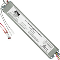 Iota I-232 - Emergency Backup Ballast - 90 min. - Operates (2) 2 ft. to 4 ft. single, Bi-Pin, T8 and T12, HO or VHO Fluorecent Lamps - 120/277 Volt