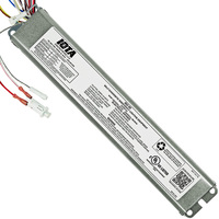 Iota ISD-80 - Self-Diagnostic Emergency Backup Ballast - 90 min. - Operates Most 2 ft. to 8 ft. single, Bi-Pin, T8 and T12, HO or VHO and 28 to 54 Watt 2 ft. to 4 ft. T5 Lamps - 120-277 Volt