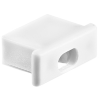 ECO End Cap with Hole for MICRO-ALU Channel - KLUS 21001