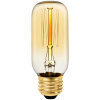 Radio Style - 40 Watt - 4.1 in. Length - Vintage Light Bulb - Tinted  - T14 - PLT T38 120V40W 13A