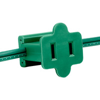 Green - Female Gilbert Inline Replacement Plug for Commercial Christmas Lights - SPT-1 Rated