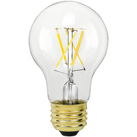 LED Victorian Bulb - 7.5 Watt - 60W Equal - 670 Lumens - 2400 Kelvin - Color Matched For Incandescent Replacement - 120 Volt - Euri Lighting VA19-2000a