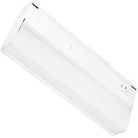9 in. - Under Cabinet - LED - 5 Watt - 230 Lumens - Dual Color Switch to either 3000 or 4000 Kelvin - Hardwired - GlobaLux UCL-9-5-120D-930/40-WH