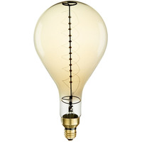 60 Watt - Vintage Antique Light Bulb - PS52 - 12.2 in. Length - Spiral Filament - Tinted - Bulbrite 137101