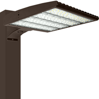 38,400 Lumens - LED Parking Lot Fixture - 240 Watt - 750W MH Equal - 5000 Kelvin - Type III - Bradford Series Mounting Hardware Sold Separately - 120-277 Volt - PLT-11811