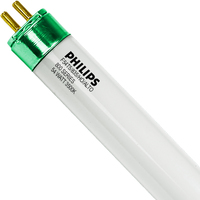 Philips 29028-8 - F54T5/835/HO/ALTO - High Output T5s - 54 Watt - 3500 Kelvin - 46 in. - 5000 Lumens - 800 Series Phosphors - Case of 40