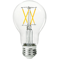 LED A19 - 7 Watt - 60 Watt Equal - Halogen Match - 800 Lumens - 3000 Kelvin - Medium Base - 120 Volt - PLT-11853