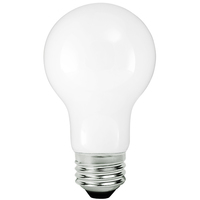 800 Lumens - LED A19 - 8 Watt - 60W Equal - 2700 Kelvin - Incandescent Replica - Medium Base - 120 Volt - PLT-11855