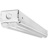 4500 Lumens - 4 ft. LED Strip Fixture - 35 Watt - 4000 Kelvin - 3 Lamp Fluorescent Equal - 120-277 Volt - Lithonia MNSL