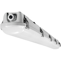 5900 Lumens - 4 ft. LED Vapor Tight Fixture - 45 Watt - 5000 Kelvin - 3 Lamp Fluorescent Equal - IP65 Rated - 120-277 Volt - PLT-90093