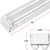 4 ft. - LED Strip Fixture - 35 Watt - 4500 Lumens - 4000 Kelvin Thumbnail