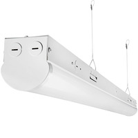 4 ft. - LED Strip Fixture - 32 Watt - 4600 Lumens - 4000 Kelvin - 2 Lamp Fluorescent Equal - 120-277 Volt - PLT-11388
