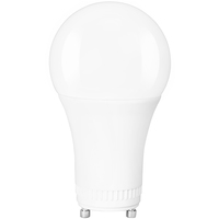 750 Lumens - LED A19 - GU24 Base - 9 Watt - 60W Equal - 2700 Kelvin - Incandescent Match - 120 Volt - PLT-11381
