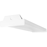 3275 Lumens - 2 ft. x 7.1 in. LED Wraparound Fixture - 25 Watt - 4000 Kelvin - 2 Lamp Fluorescent Equal -  Acrylic Lens - 120-277 Volt - PLT-90110