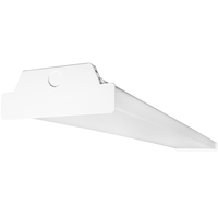 8050 Lumens - 4 ft. x 7.1 in. LED Wraparound Fixture - 63 Watt - 5000 Kelvin - 4 Lamp Fluorescent Equal - Acrylic Lens - 120-277 Volt - TCP LWR6300150
