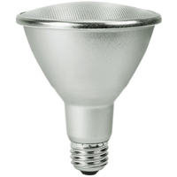 1000 Lumens - LED PAR30 Long Neck - 12.5 Watt - 75W Equal - 3000 Kelvin - 25 Deg. Narrow Flood - 120 Volt - Satco S29426
