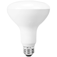 LED BR30 WiFi Bulb - 8 Watt - 65 Watt Equal - Unlimited Colors - 650 Lumens - Works with Amazon Alexa and Google Assistant - Dimmable - 120 Volt - Bulbrite 196110