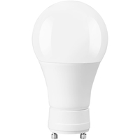 820 Lumens - LED A19 - GU24 Base - 9 Watt - 60W Equal - 3000 Kelvin - Halogen Match - 120 Volt - Green Creative 97909