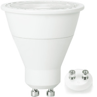 500 Lumens - LED MR16 - 5.5 Watt - 50W Equal - 3000 Kelvin - 20 Deg. Narrow Flood - Dimmable - 120 Volt - TCP LED7MR16GU1030KNFL