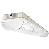 4 ft. Fluorescent Vapor Tight Fixture - IP65 Rated - Operates 2 F54T5 Lamps - 120-277 Volt - PLT S254WPB