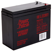 12 Volt - 7 Ah - AGM Battery - F1 Terminal - Sealed AGM - Interstate Batteries FAS1075