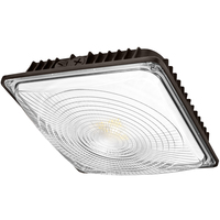 5040 Lumens - LED Canopy Fixture - 42 Watt - 5000 Kelvin - Replaces 175 Watt Metal Halide - 120-277 Volt - PLT-11692