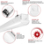 5240 Lumens - 4 ft. LED Strip Fixture - 40 Watt - 5000 Kelvin Thumbnail