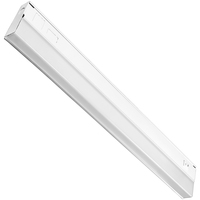 24 in. - Under Cabinet - LED - 9 Watt - 460 Lumens - Dual Color Switch to either 3000 or 4000 Kelvin - Hardwired - GlobaLux UCL-24-9-120D-930/40-WH