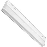 18 in. - Under Cabinet - LED - 9 Watt - 460 Lumens - Dual Color Switch to either 3000 or 4000 Kelvin - Hardwired - GlobaLux UCL-18-9-120D-930/40-WH