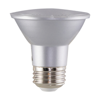 500 Lumens - LED PAR20 - 6.5 Watt - 50 Watt Equal - 3000 Kelvin - 40 Deg. Flood - Dimmable - 120 Volt - Satco S29406