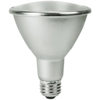 1000 Lumens - LED PAR30 Long Neck - 12.5 Watt - 75W Equal - 3000 Kelvin - 60 Deg. Wide Flood - Dimmable - 120 Volt - Satco S29436