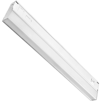 21 in. - Under Cabinet - LED - 9 Watt - 460 Lumens - Dual Color Switch to either 3000 or 4000 Kelvin - Hardwired - GlobaLux UCL-21-9-120D-930/40-WH