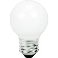 2 in. Dia. - LED G16 Globe - 3 Watt - 25 Watt Equal - Incandescent Match - 250 Lumens - 2700 Kelvin - Medium Base - 120 Volt - TCP FG16D2527EW