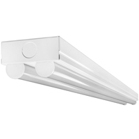 5000 Lumens - 4 ft. LED Strip Fixture - 50 Watt - 4000 Kelvin - 3 Lamp Fluorescent Equal - 120-277 Volt - Philips SCD450L840-UNV