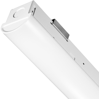 4620 Lumens - 4 ft. LED Strip Fixture - 35 Watt - 5000 Kelvin - 3 Lamp Fluorescent Equal - 120-277 Volt - PLTS-12034