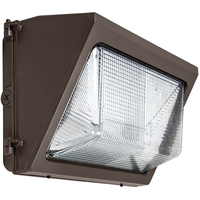 6250 Lumens - LED Wall Pack - 50 Watt - 5000 Kelvin - 250 Watt Metal Halide Equal - 120-277 Volt - PLT-11712