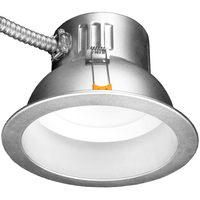 Wattage and Color Selectable - 6 in. LED Downlight - Watts 8-10-15 - Kelvin 2700 or 5000 - Lumens 700-1500 - 120-277 Volt - TCP DLC6SWUZDCCT2